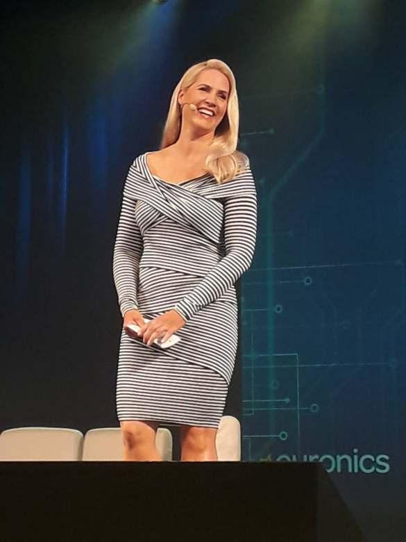 """""""Wenn Viele das Gleiche wollen, ist der Erfolg vorprogrammiert"""", Moderatorin Judith Rakers."""