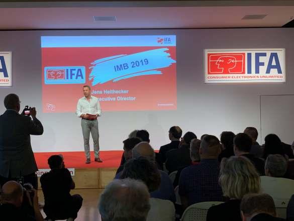 """""""Die IFA ist die weltweit größte Messe für digitale Produkte"""", IFA-Director Jens Heithecker."""