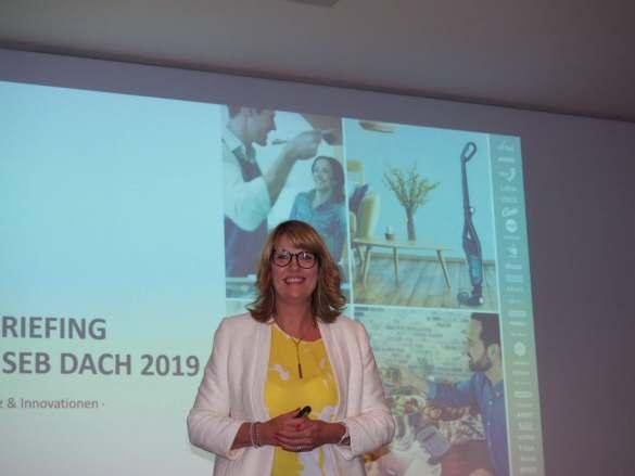 Mit reichlich Küchenkompetenz: Astrid Duhamel, Head of Communications & Digital DACH bei der Groupe SEB.