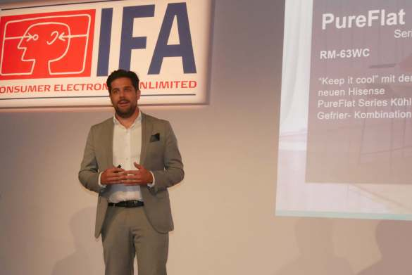Unter dem Hisense-Dach mit neuem Marken-Selbstbewusstsein: Julian Lietzau, Marketing Director Gorenje.