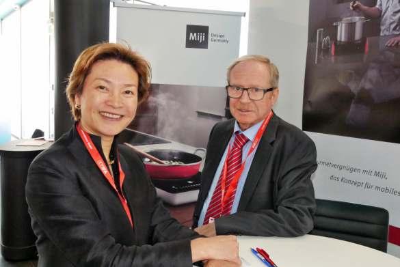Das Ehepaar Maeck Can Yue und Walter Michel – Gründer der Marke Miji.