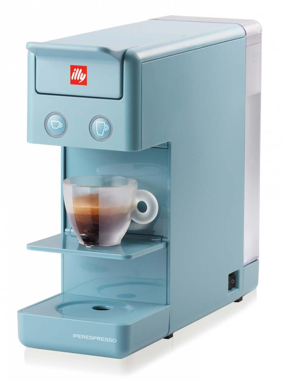 Illy Espressomaschine Iperespresso Y3.2 für Espresso und Filterkaffee.