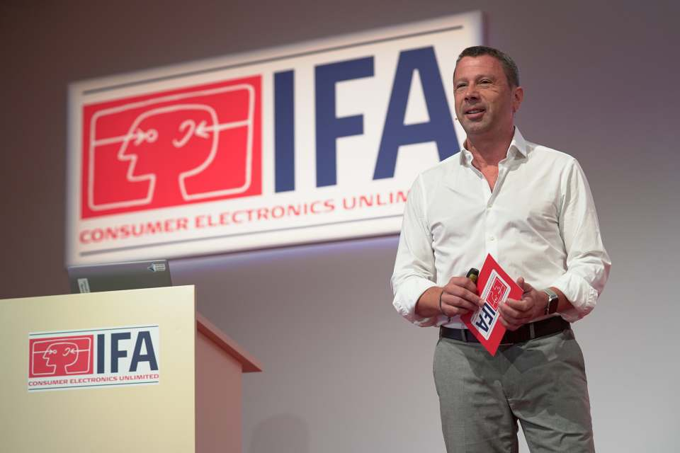 Jens Heithecker, Senior Vice President Messe Berlin Group, IFA Executive Director (Foto: Messe Berlin).