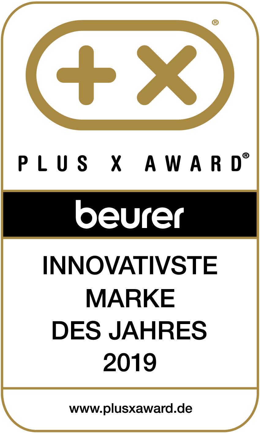Logo Plus X Award Innovativste Marke des Jahre 2019