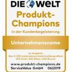 Durch Verbraucherbefragungen ermittelt: die Produkt-Champions 2019