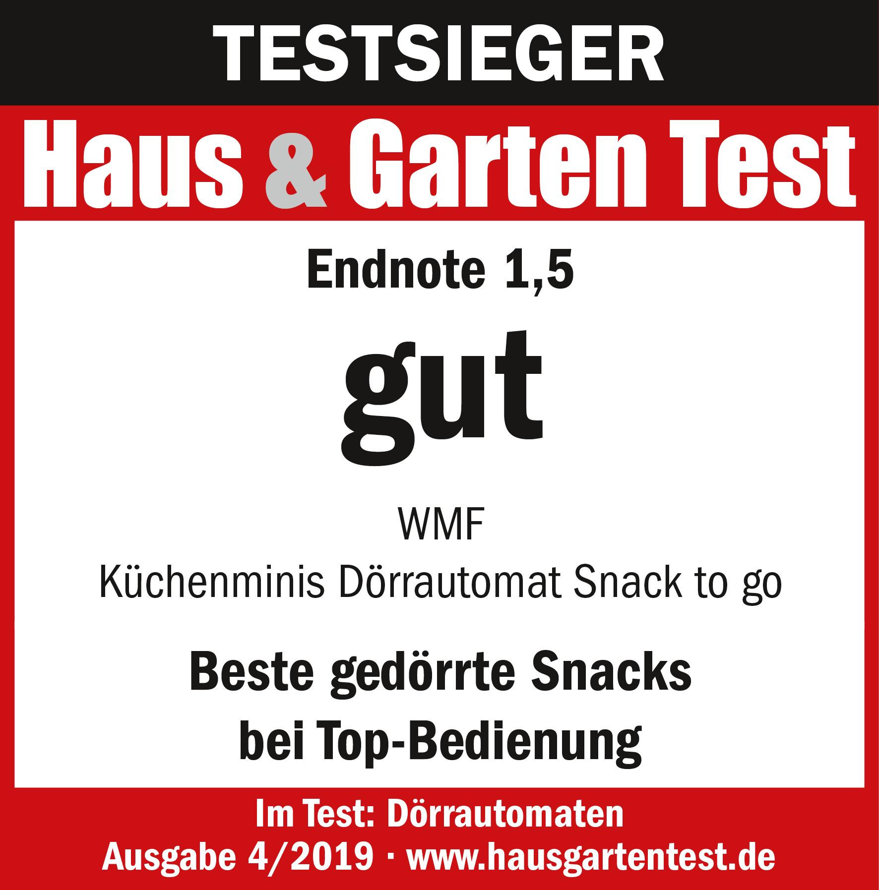 Testsieger: WMF KÜCHENminis Dörrautomat Snack.