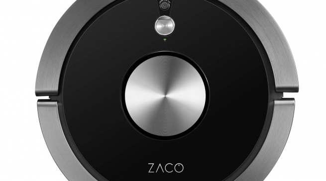 Das Top-Modell von ZACO: Der A9s ist ein Saug- und Wischroboter, der sich per App steuern lässt.