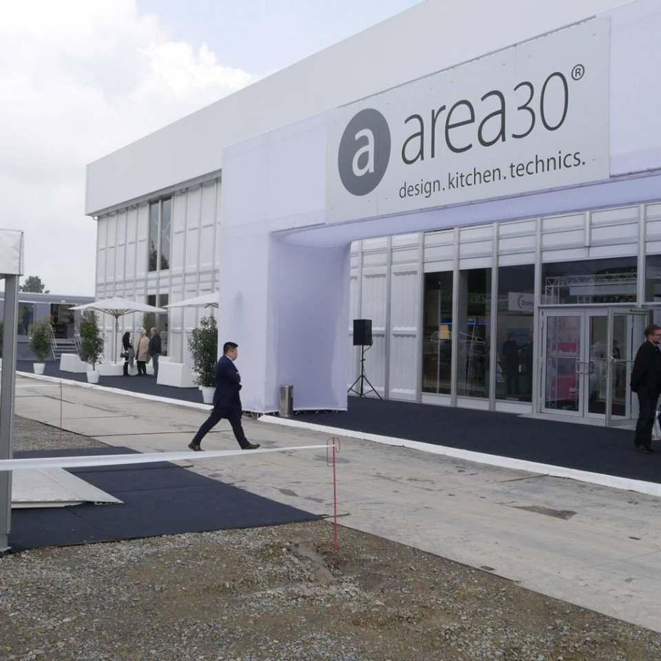 Wächst und wächst: der Ausstellungsbereich von area30 und mit dem cube30.