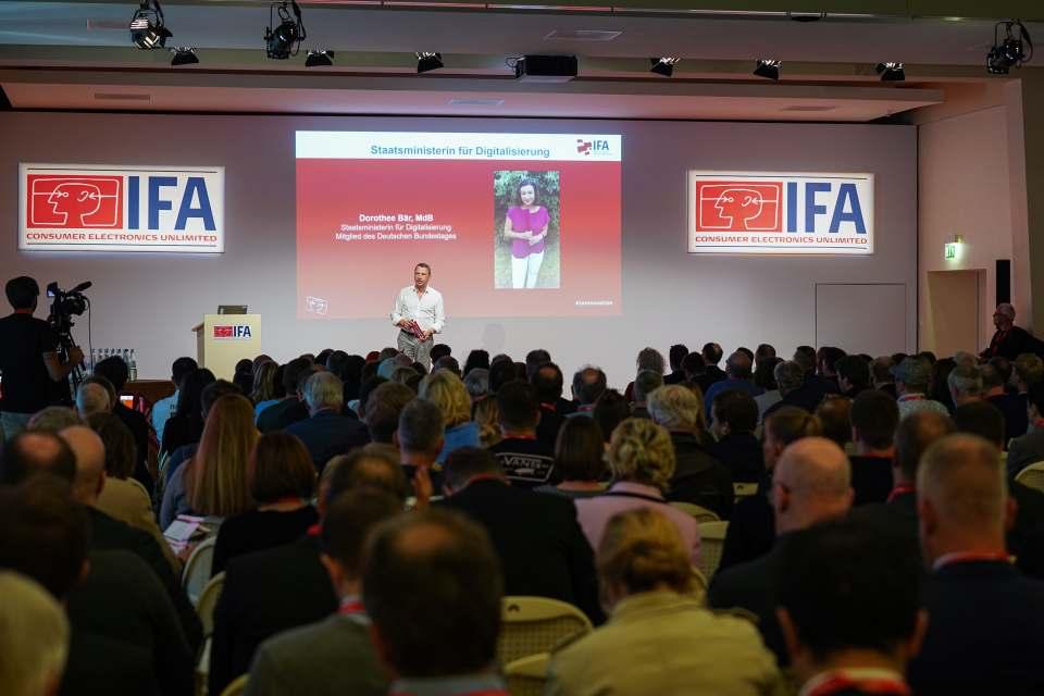 """""""Die IFA ist die weltweit größte Messe für digitale Produkte"""", IFA-Director Jens Heithecker. Foto: Messe Berlin"""
