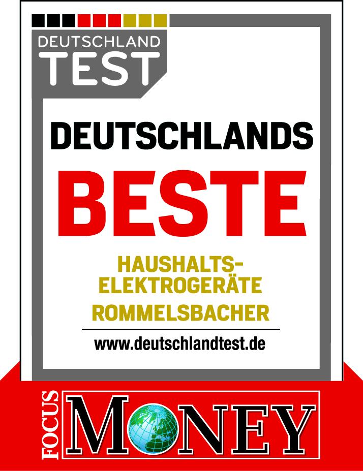 Auszeichnung Rommelsbacher Focus Money