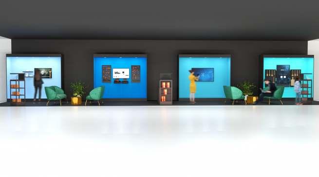 Auf der EK Live zu sehen: neuartige Produktpräsentation, die den Shopper bindet und Kaufanreize setzt.