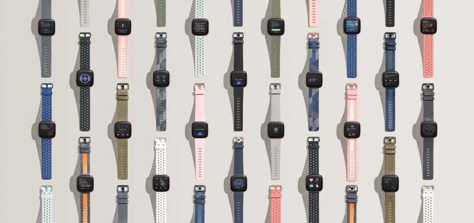 Fitbit Fitness Smartwatch Versa 2 mit Gesundheits-, Fitness und Lifestyle-Features.
