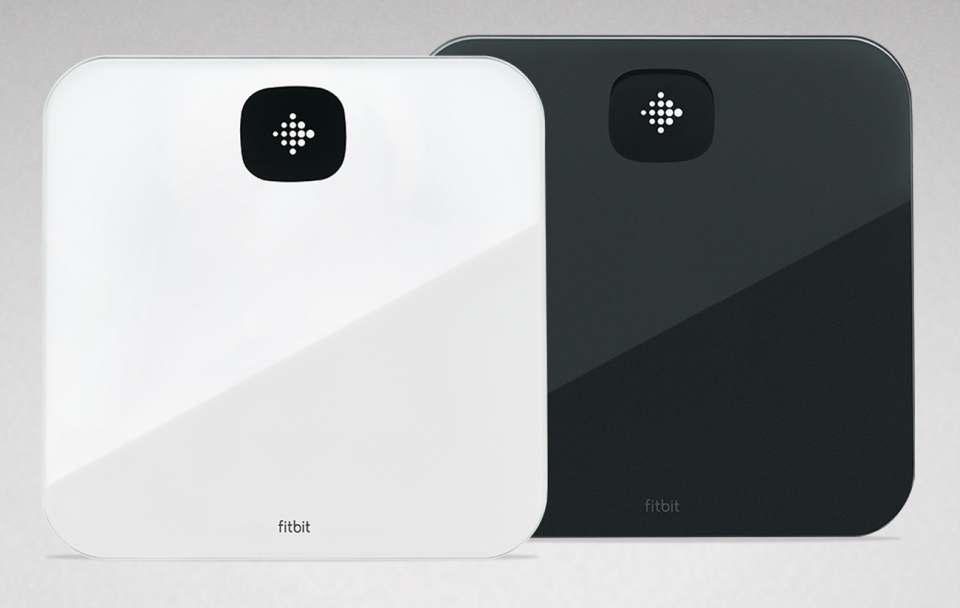 Fitbit Personenwaage Aria Air mit Gewichts- und Fitnesskontrolle.