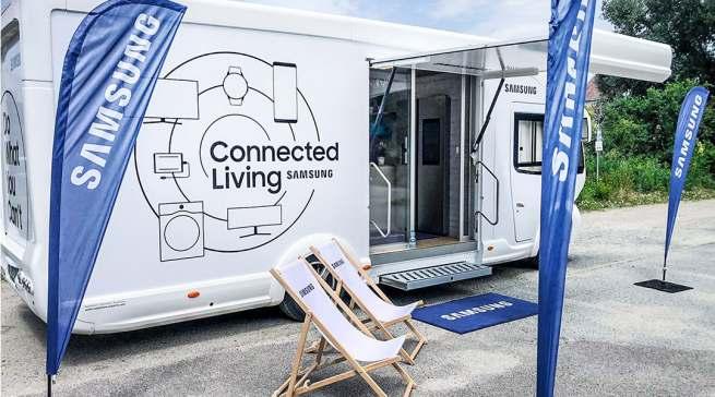 Der Smart Home Trainingstruck von Samsung