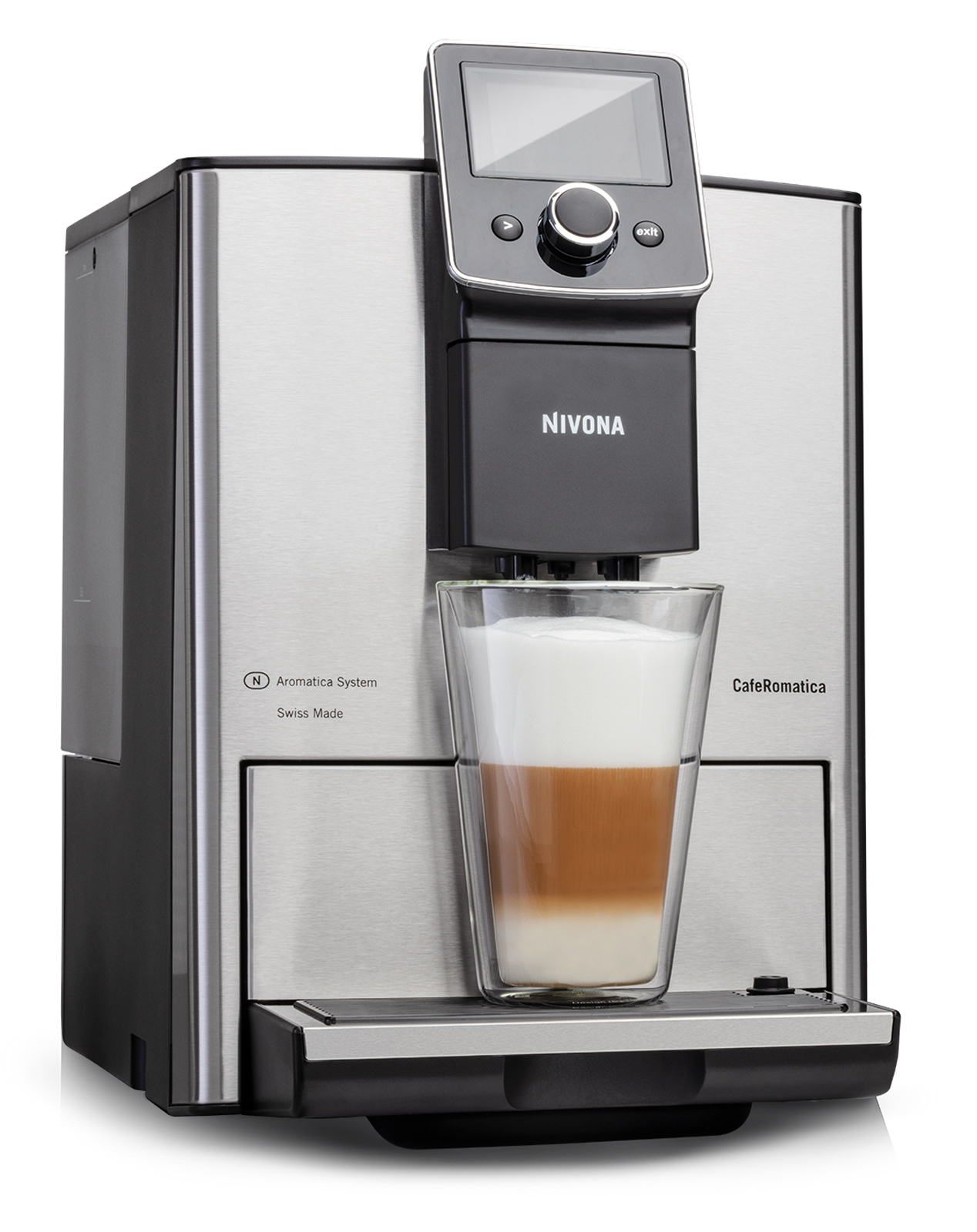 <h1>Nivona Kaffeevollautomat NICR 825</h1><h3 style='font-size: 20px; margin: 0px 0px 15px 0px;'> -2 Modelle, verbesserte Ausstattung, Spumatore DUOplus</h3>