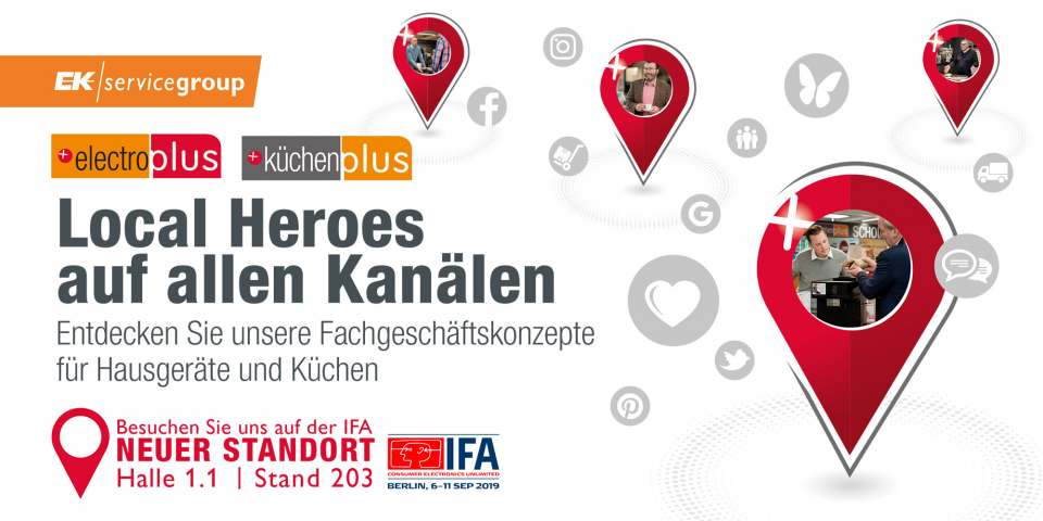 EK servicegroup Save the date IFA 2019