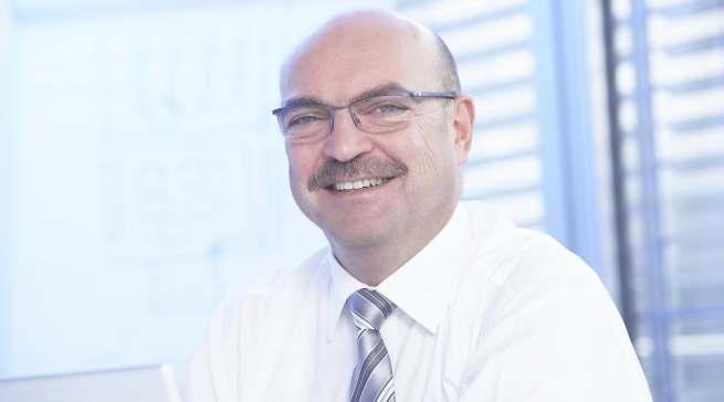 Freut sich auf die IFA: telering Geschäftsführer Franz Schnur.