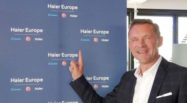 Thomas Wittling, Geschäftsführer Haier, kommt mit drei Marken aus der Haier Group nach Ostwestfalen.