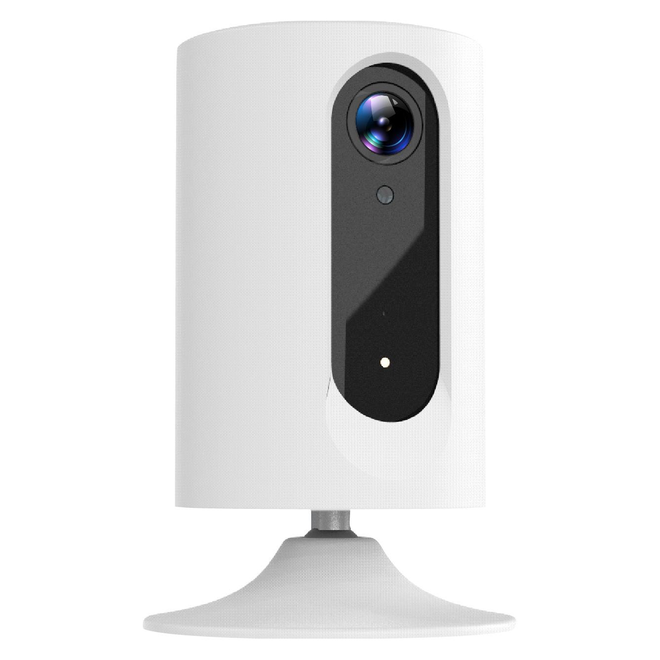 Unter der Marke Smartwares wird auf der IFA eine Sichtschutzkamera für die Überwachung von Wohnräumen gezeigt.