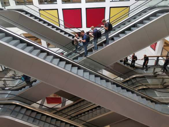 Treppenhaus Messen