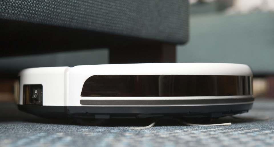 Blaupunkt Staubsauger-Roboter Bluebot Xeasy Robotic mit Steuerung über Sprachbefehl, Fernbedienung, App.