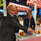 Startschuss für den electroplus-Marktplatz (EK Vorstandsmitglieder Jochen Pohle, Franz-Josef Hasebrink, und Susanne Sorg.)