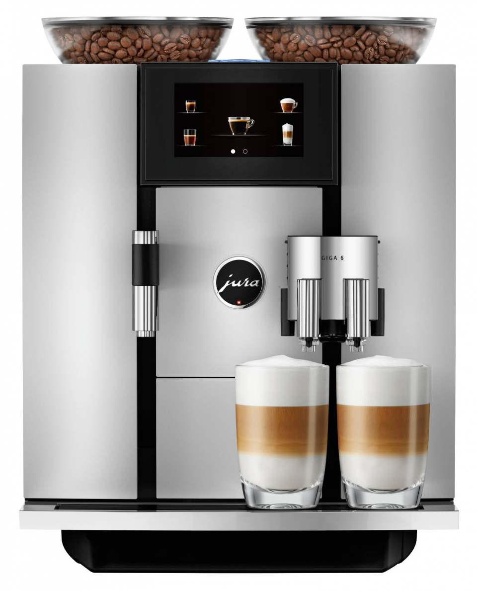 Ein Monument für authentischen Kaffeegenuss: die neue Giga 6 von Jura.