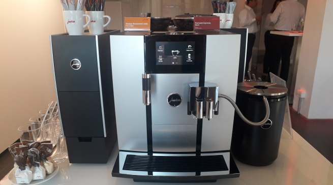 In der Giga 6 ist alles verbaut, was in der Kaffee-Technologie aktuell möglich ist.