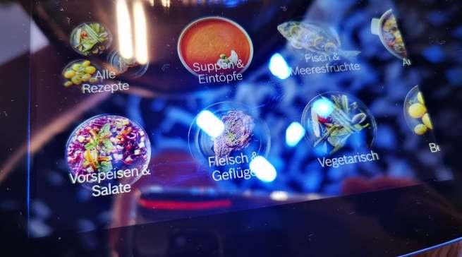 Der Cookit punktet mit einem bestechend leuchtstarken Display.