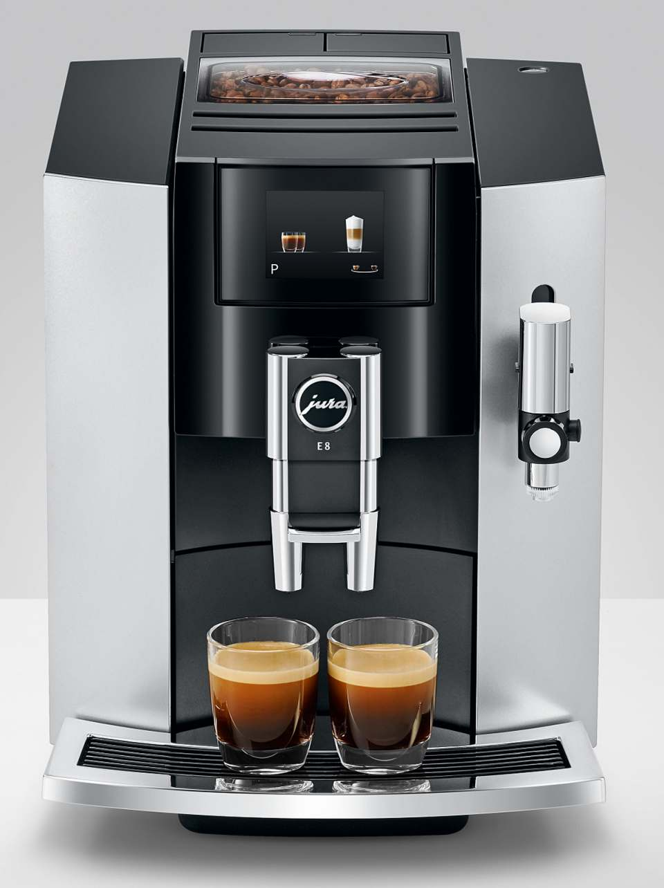 Jura Kaffeevollautomat E8 Modell 2019 . Upgrade für den Vollautomaten.