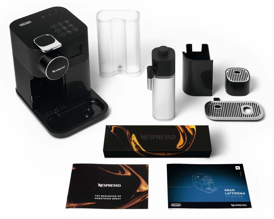Nespresso Kaffeemaschine Gran Lattissima mit Soft-Touch-Direktwahltasten.