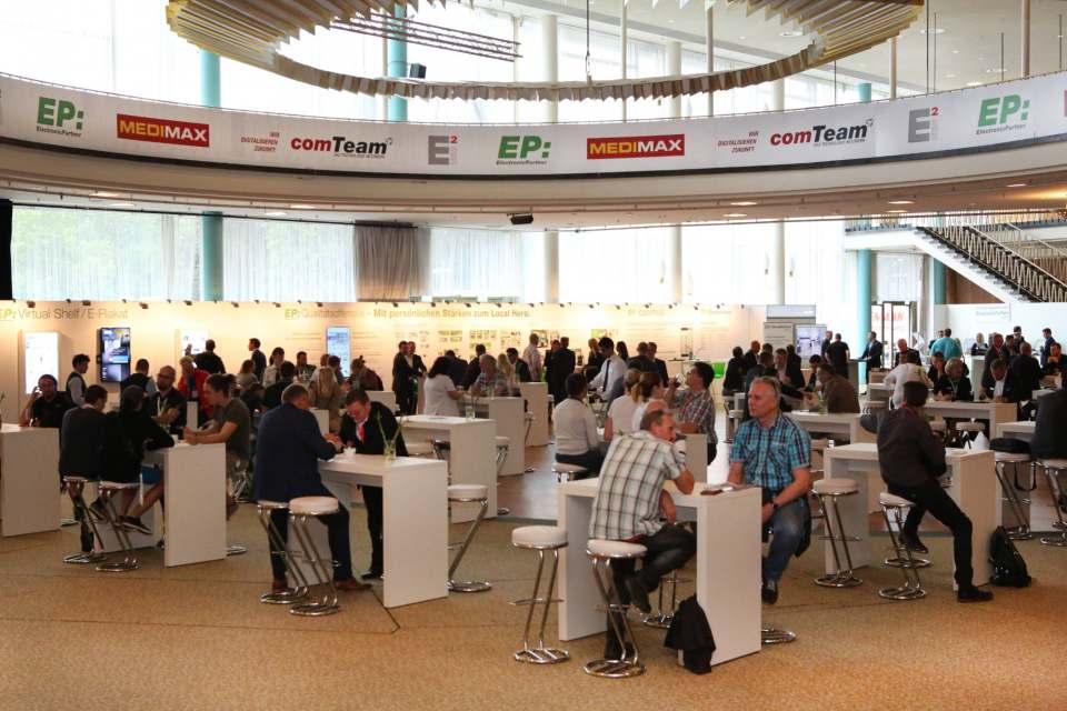 Netzwerken, Austauschen, Energie tanken: Das IFA-Palais ist auch in diesem Jahr der Treffpunkt für alle Mitglieder der Verbundgruppe ElectronicPartner.