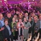 Wer hart arbeitet, darf sich auch freuen und feiern: Die Gewinner des EK Passion Star 2019.