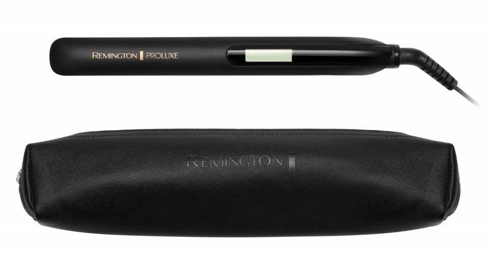 Remington Haarglätter PROluxe Midnight Edition mit 9 Temperatureinstellungen.