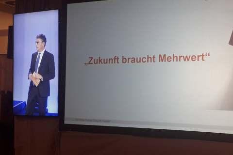 Franz-Josef Hasebrink sieht die EK/servicegroup für die Zukunft gut aufgestellt.