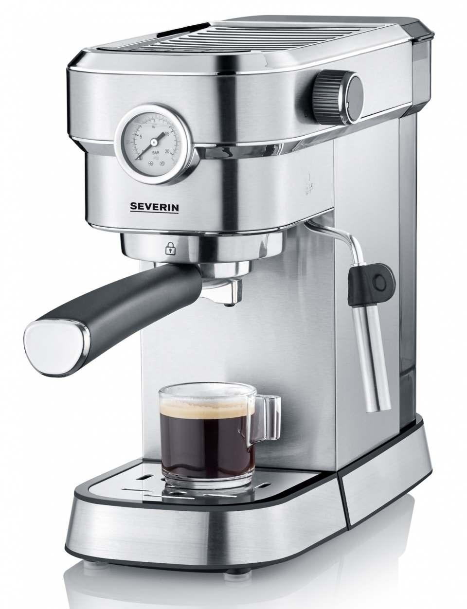 Severin Espressomaschine Espresa Plus mit 3 Temperatureinstellungen.