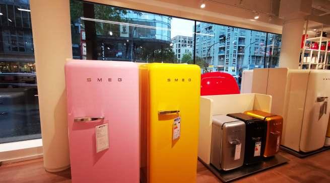 Welche Farbe darf es sein? Smeg bringt Farbe in den Küchen-Alltag.