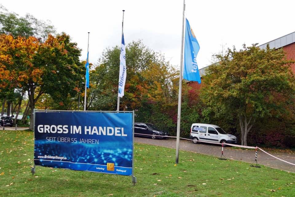 Partner für den beratungsstarken Fachhandel: Brömmelhaupt zeigte in Frechen Flagge.