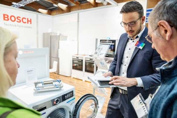 Mit nachhaltigen Themen von der IFA mit dabei: Bosch.