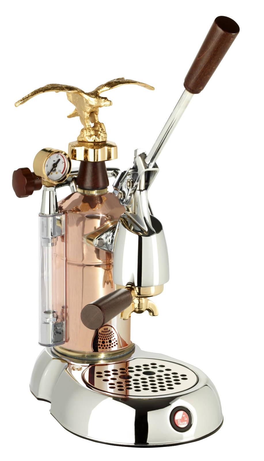 Der Hebel macht den Unterschied: Espressomaschine La Grande Bellezza – LGB von La Pavoni.