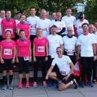 Top 10 beim Marathon: das Team Beurer.