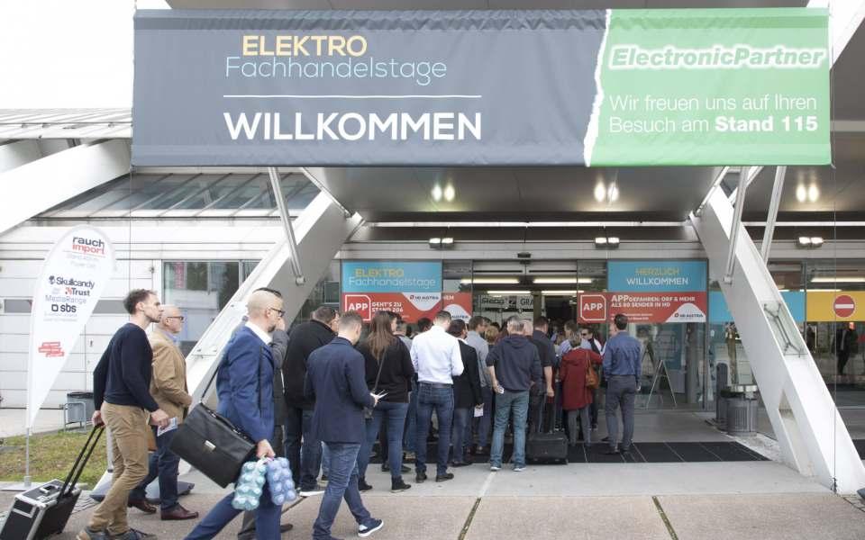 Gut besucht waren die Elektrofachhandelstage Linz.