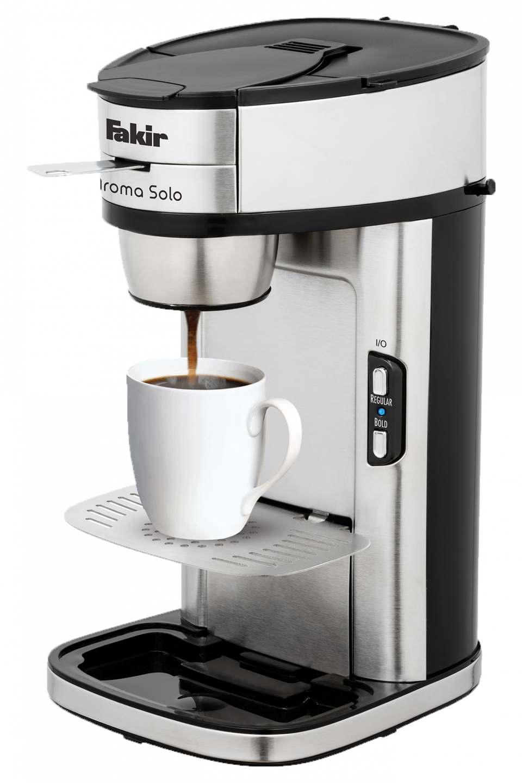 Fakir Filterkaffeemaschine Aroma Solo mit NoBrew-Technologie.