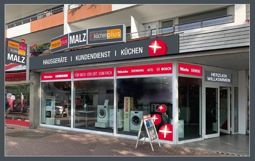Ein bekannter Name, aber neu in Bad Salzuflen: electroplus/küchenplus Malz.