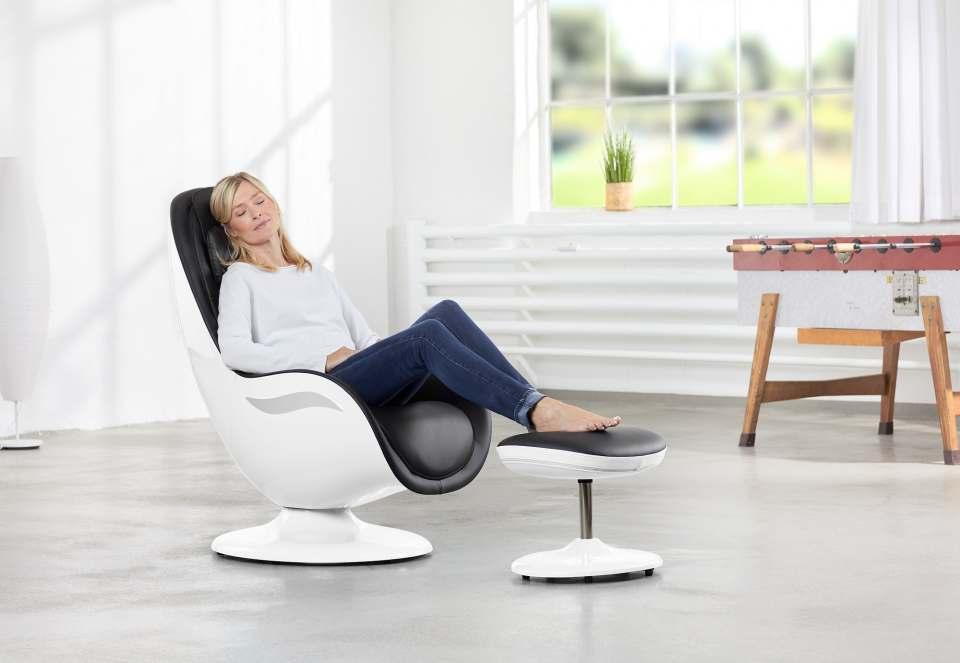 Gemacht für Menschen, die ihre Massageanwendungen besonders ästhetisch erleben wollen: Medisana Lounge Chair RS 650.