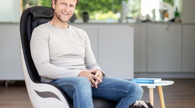 Der Medisana Lounge Chair RS 650 punktet mit einem hohen Sitzkomfort.