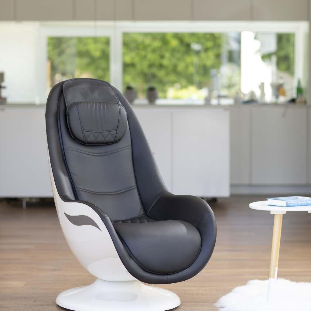 Besticht mit seinem modernen Design: Lounge Chair RS 650 von Medisana.