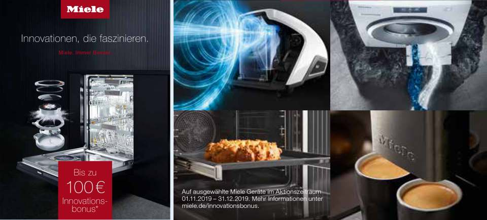 Miele Cashback Collage