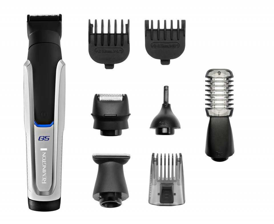 Remington Personal Groomer Graphite PG5000 mit Body Hair Trimmer.