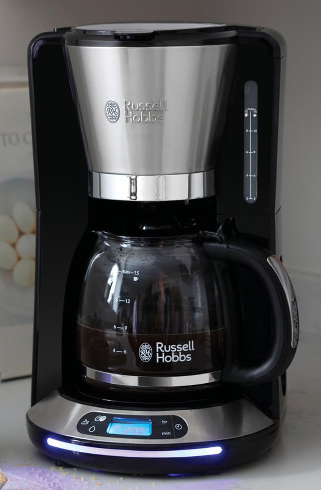 Russell Hobbs Kaffeemaschine Velocity mit WhirlTech-Brühtechnologie.